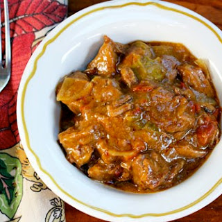 Slow Cooker Beef and Green Chile Stew from The Perfect Pantry