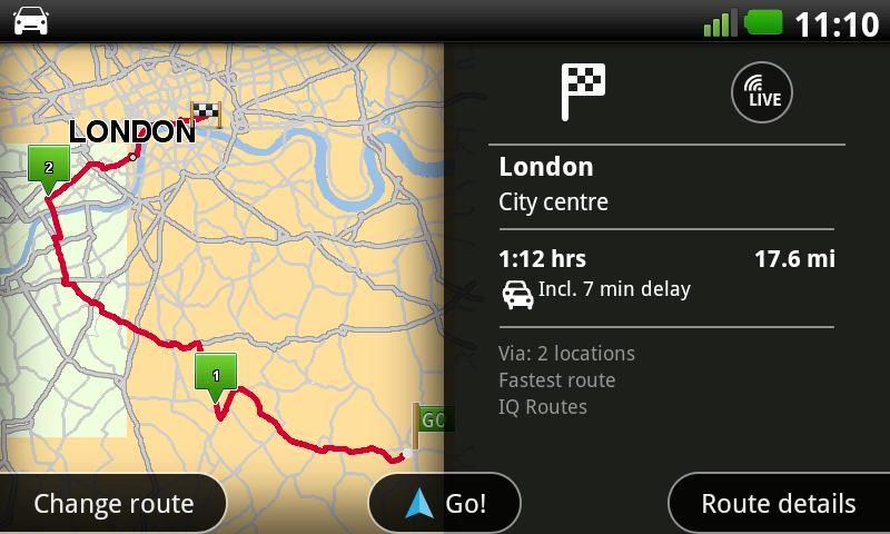 TomTom U.K. & Ireland - screenshot