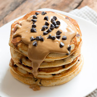 Chocolate Chip Peanut Butter Pancakes