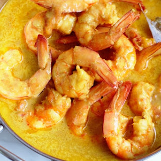 Low Carb Prawn Curry