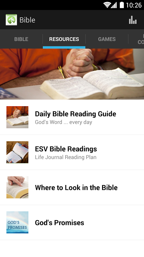 Bible App - screenshot