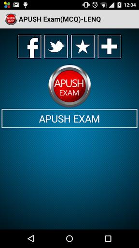 APUSH Exam MCQ -LENQ