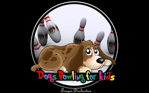 Dog bowling for kids- gambar mini screenshot