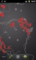 Screenshot of Ivy Leaf Pro Live Wallpaper