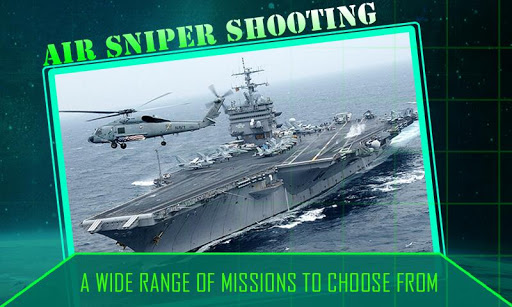 Gunship Sniper Shooting 3D