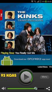 92 KQRS - screenshot thumbnail