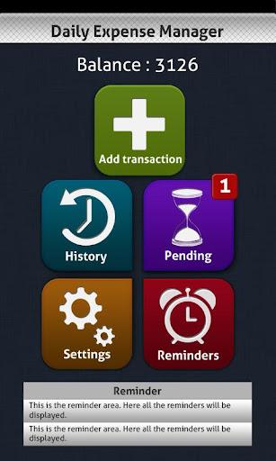 Daily Expense Manager PRO v1.1 APK