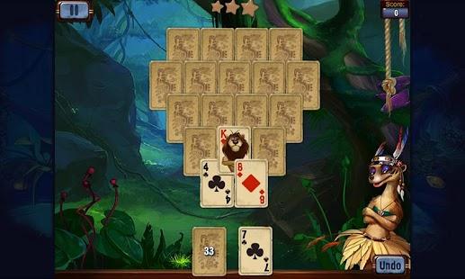 免費紙牌App|熱帶雨林接龍|阿達玩APP