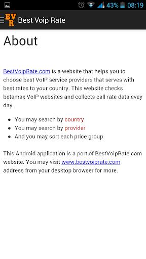 通訊必備APP下載|Best Voip Rate (old) 好玩app不花錢|綠色工廠好玩App
