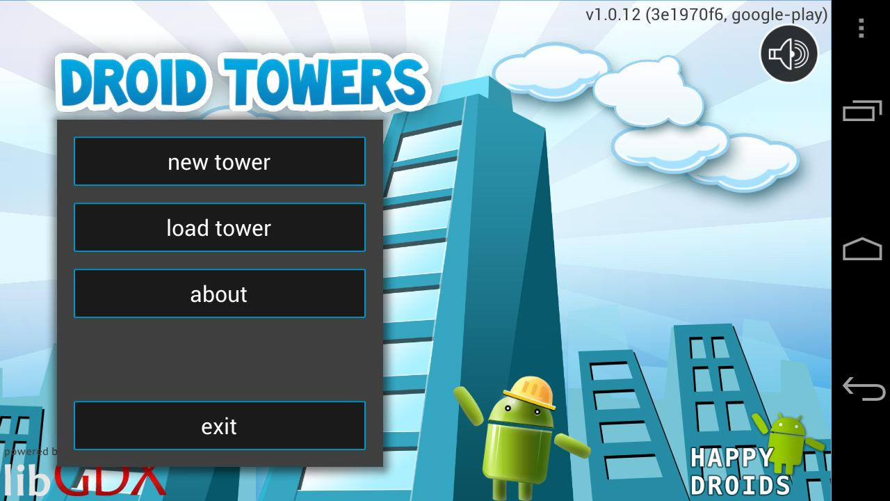 Droid Towers- screenshot