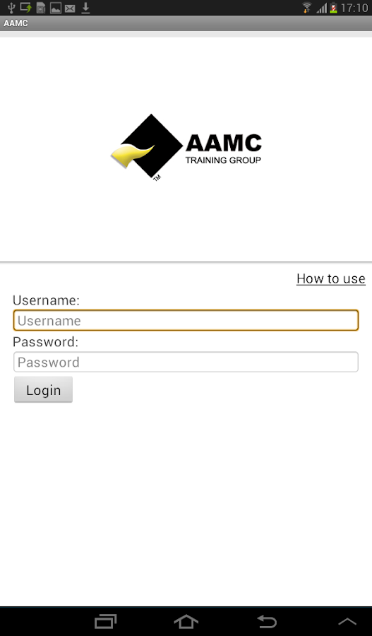 AAMC Training- screenshot