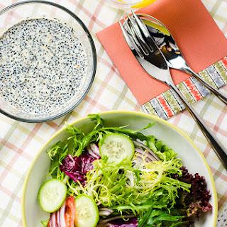 Black Sesame Salad Dressing