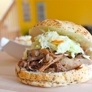 Maple Syrup and Mustard Slow Cooked Pulled Pork Recipe