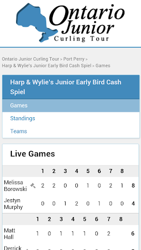Ontario Junior Curling Tour