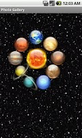Screenshot of Solar System:Planets
