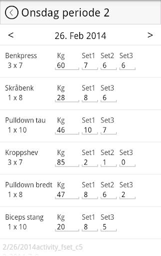 【免費運動App】PHS Treningsdagbok-APP點子