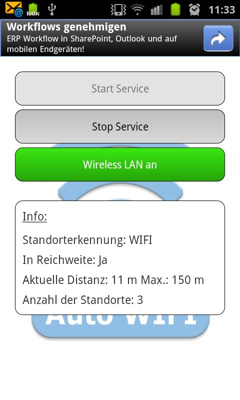 Auto Wifi - screenshot