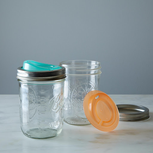 Cuppow Drinking Lids: Wide (Set of 2)