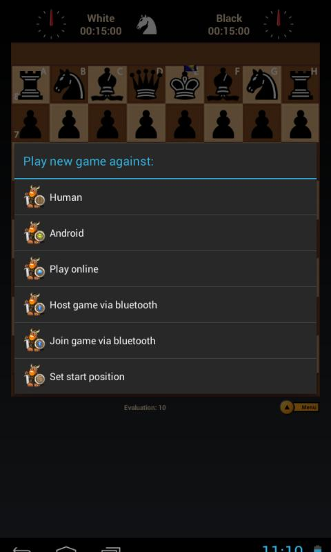 Black Knight Chess - screenshot