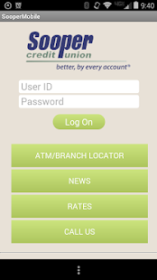 Sooper Mobile Banking App- screenshot thumbnail