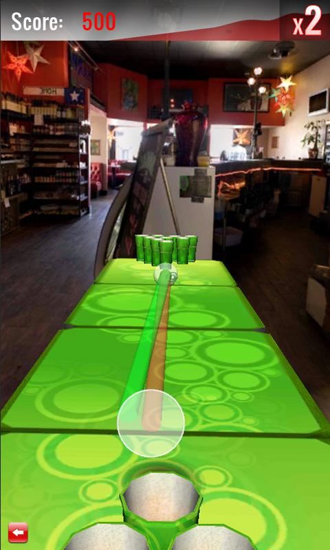 Beer Pong HD Free - screenshot