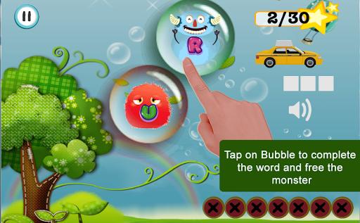 Bubble Words Kids Learning
