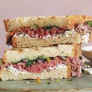 The Absolute Best Roast Beef Sandwich.
