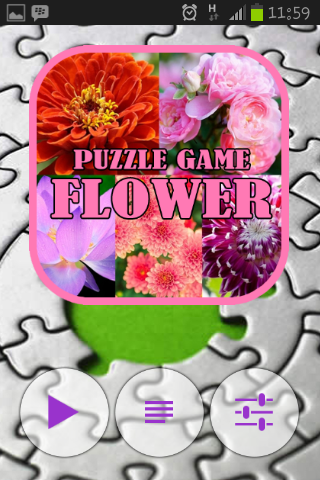 PUZZLE GAME FLOWER