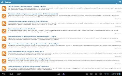 Sismos Temblores y Terremotos- screenshot thumbnail