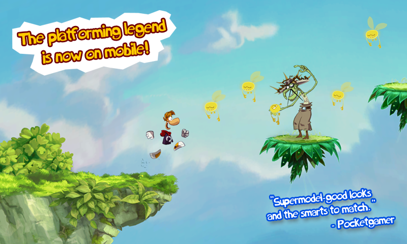 Rayman Jungle Run: captura de tela