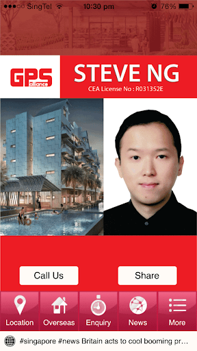 Steve Ng Real Estate Agent
