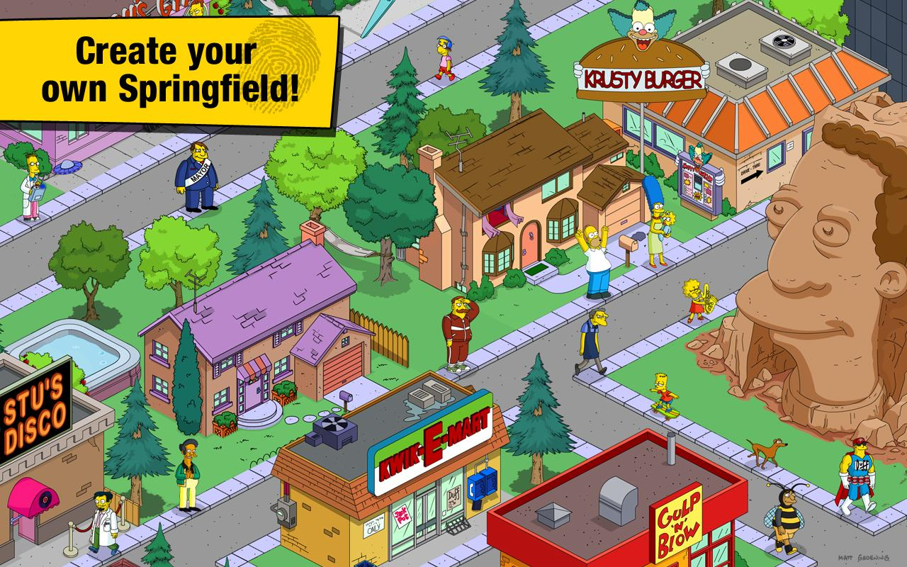The Simpsons™: Tapped Out screenshot #2