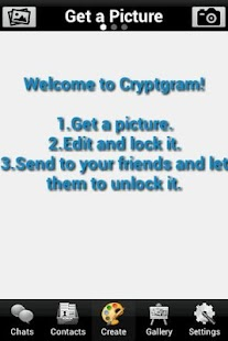 Cryptgram - Crypted,Photo,Chat - screenshot thumbnail