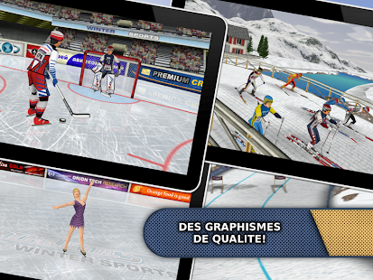 Athletics: Winter Sports Free Capture d'écran