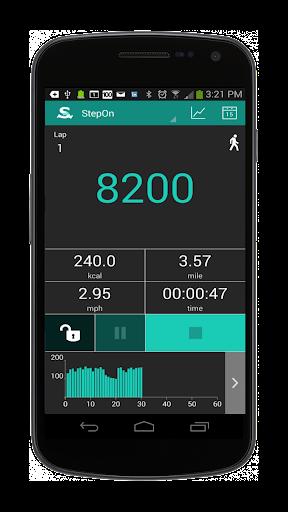 StepOn-Pro Step Tracker