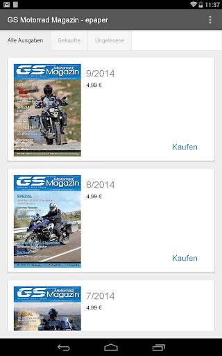 GS Motorrad Magazin - epaper