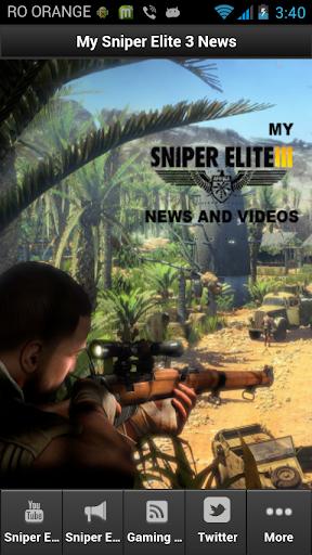 My Sniper Elite 3 Tool
