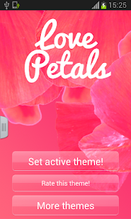 Love Petals Keyboard - screenshot thumbnail