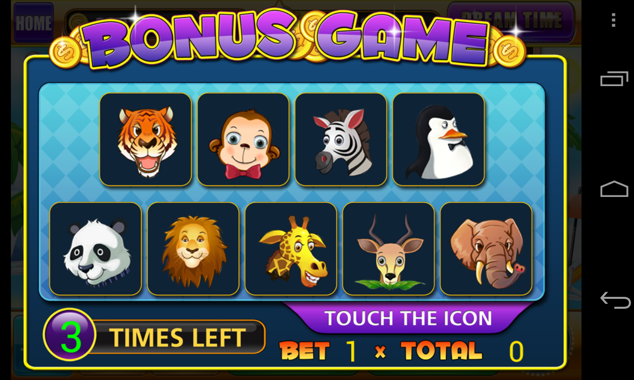 Betting zoo slot machine