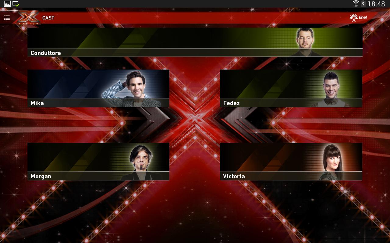 X Factor 2014 - screenshot