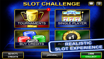 Screenshot of Slot Challenge