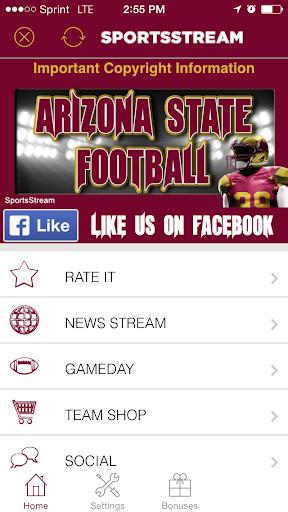 Arizona State Football STREAM