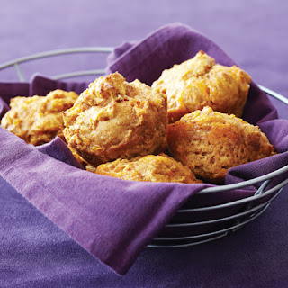 Chipotle Cheddar Sweet Potato Muffins