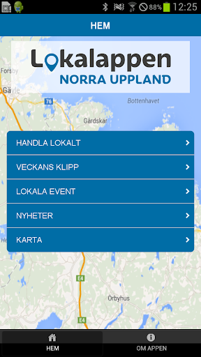 Lokalappen Norra Uppland