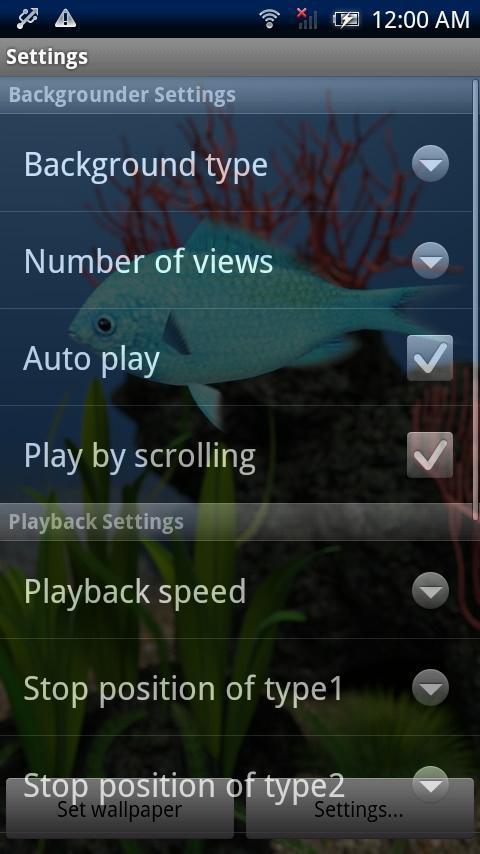 Chromis viridis Trial- screenshot