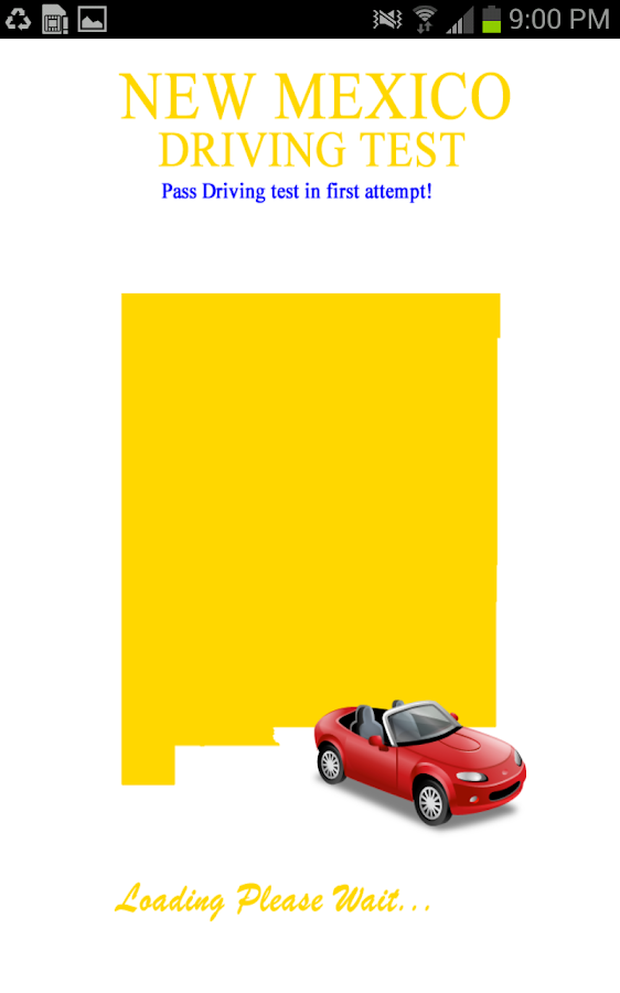 New Mexico Driving Test- screenshot