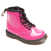 Dr Martens Kids Lace and Zip Boot BOOTS