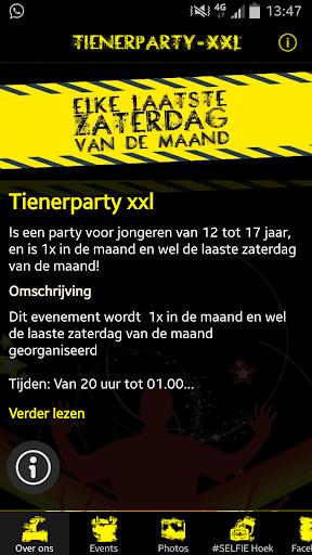 Tienerparty's xxl