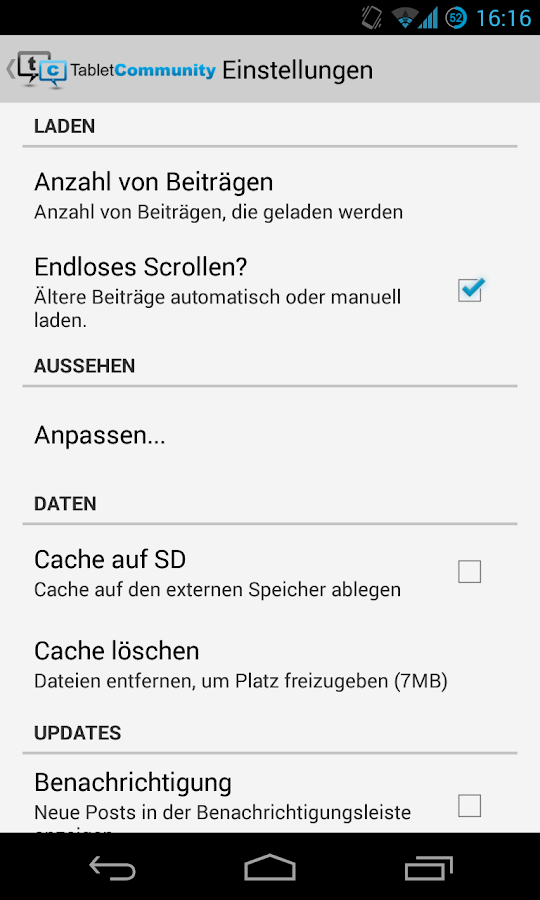 TabletCommunity.de - screenshot