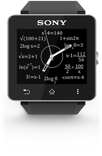 Math WatchFaces Free SW2